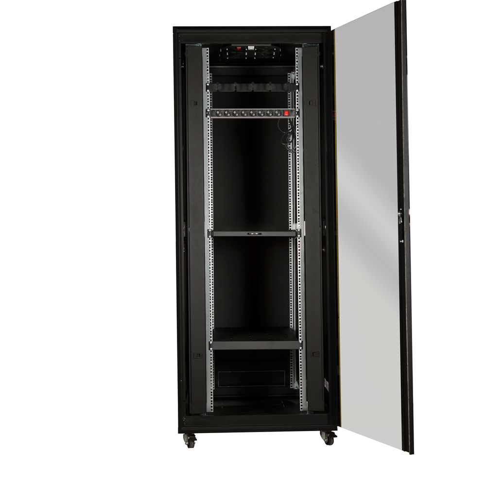 "42U 19"" 800x1000mm Dikili Tip Dolu Set Rack Kabinet-2"