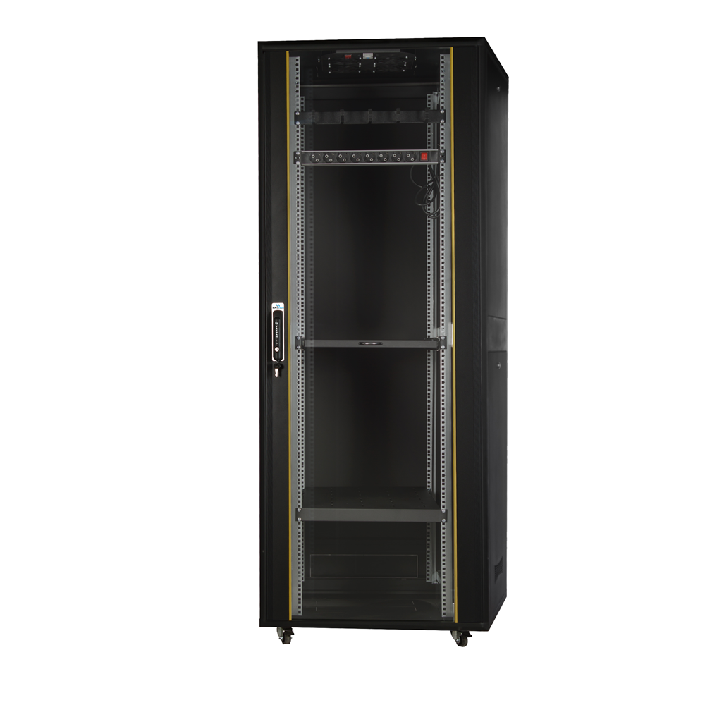 "42U 19"" 800x1000mm Dikili Tip Dolu Set Rack Kabinet"